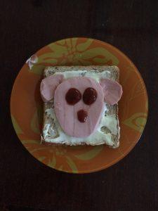 Бутербродный пудель
